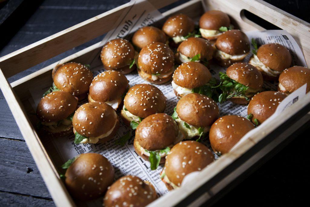 Burger Canapes